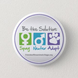 """Spay, Neuter, Adopt"" Button"