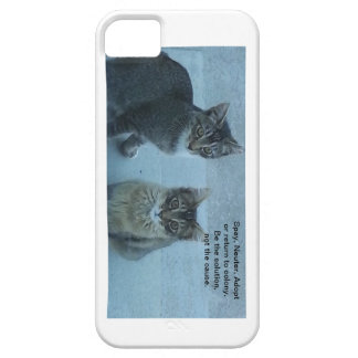 Spay, neuter, adopt iPhone 5 covers