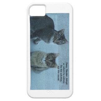 Spay, neuter, adopt iPhone 5 cases