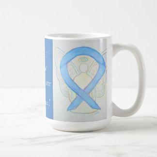 Spay/Neuter Pets Awareness Ribbon Angel Custom Mug