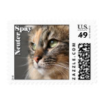 Spay / Neuter  - Small Postage Stamps