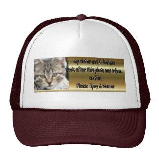 Spay & Neuter Trucker Hat