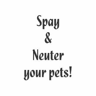 Spay & Neuter your pets Statuette