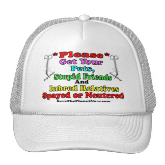 Spay or Neuter Mesh Hats