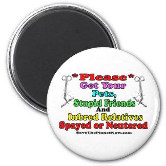 Spay or Neuter Magnet