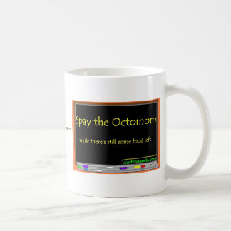 Spay the octomom coffee mug