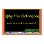 Spay the octomom post cards