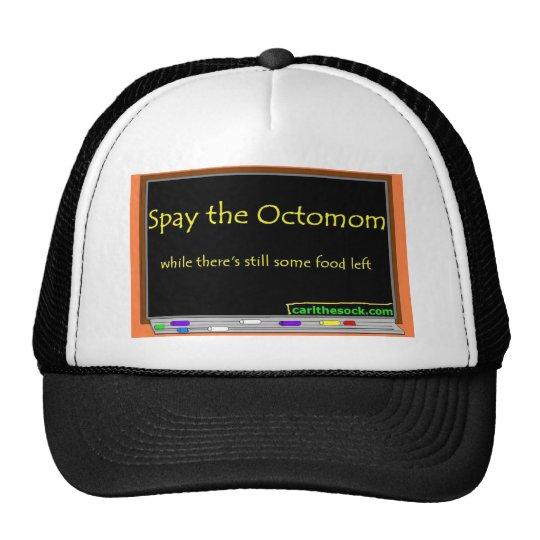 Spay the octomom trucker hat