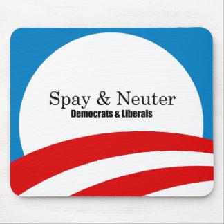 Spay y neutralice a los liberales tapetes de ratones