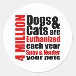 Spay y neutralice a sus mascotas etiquetas