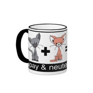 Spay y neutralice su taza de café de los mascotas
