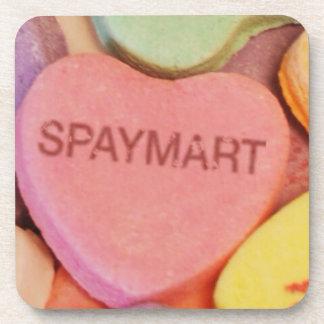 Spaymart Sweetheart Drink Coaster