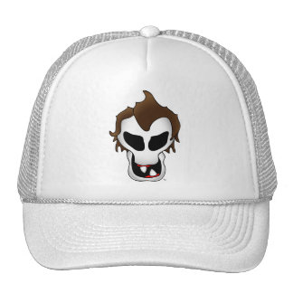 SPAZ SKULL-1 MESH HATS