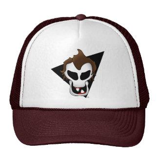 SPAZ SKULL-2 TRUCKER HAT