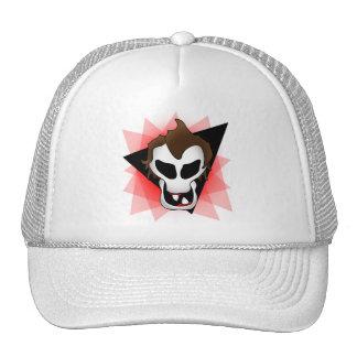SPAZ SKULL-3 TRUCKER HATS