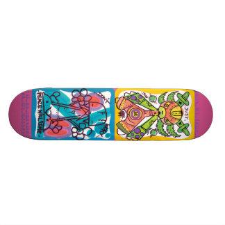 Spazecraft One Hello 1 Pinky Skate Board Deck
