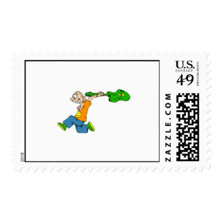Spazz Postage Stamps