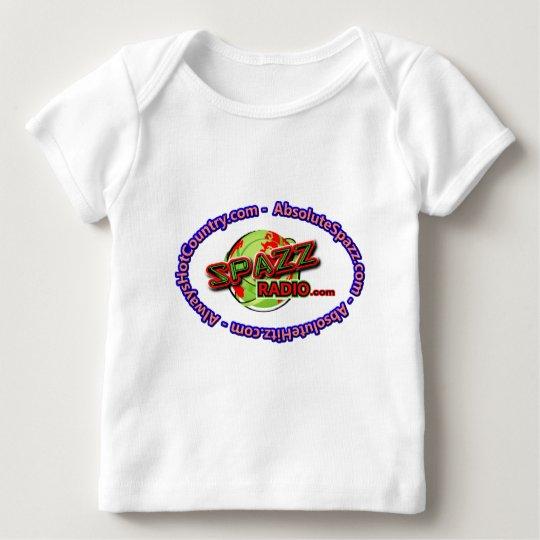 SpazzRadio Logo Merch Baby T-Shirt