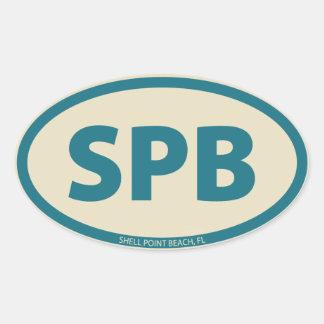 SPB Oval Oval Sticker