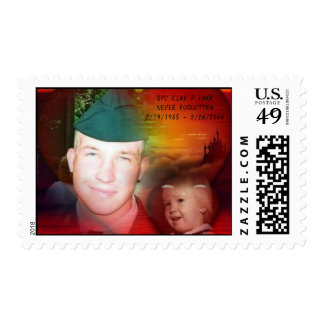 SPC CLAY FARR - POSTAGE STAMP 1