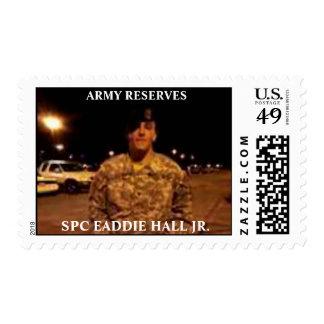 SPC EADDIE HALL JR. POSTAGE STAMPS