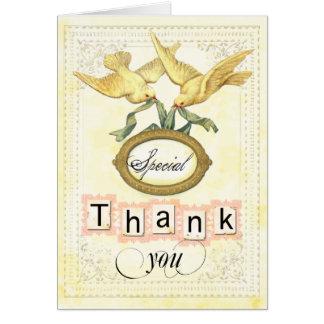 spcial thanks Card