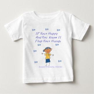 SPD Flap your hands Baby T-Shirt