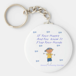 SPD Flap your hands Keychain