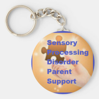 SPD Parent Support Sensory Awareness Keychain