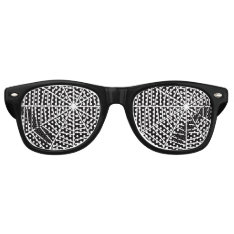 Spdr Wbz Retro Sunglasses at Zazzle
