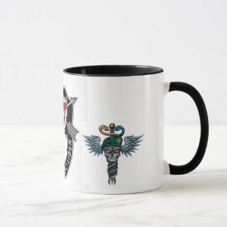 Speacial Forces Medic Black 11 oz Ringer Mug