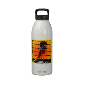 Speak Against Tyranny You Are Already A Slave Drinking Bottles