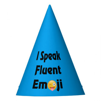 Speak Emoji Party Hats