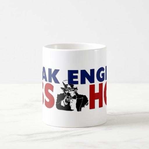 Speak English Asshole Coffee Mug
