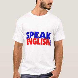 Speak English (color) Destroyed TShirt