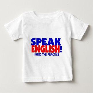 Speak English Humor Infant Toddler T-Shirt