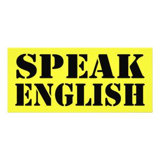 Speak English Rack Card
