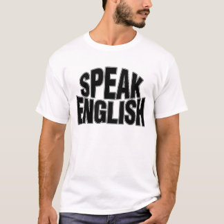 Speak English (stylized) Basic T-Shirt