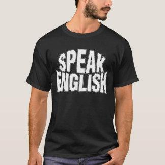 Speak English (stylized) Dark T-Shirt