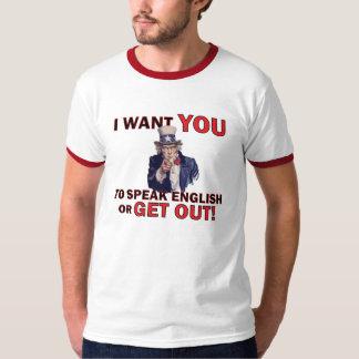 Speak English T-Shirt