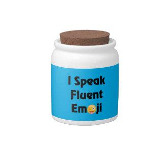 Speak Fluent Emoji Candy Dishes
