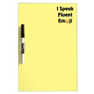 Speak Fluent Emoji Dry-Erase Board