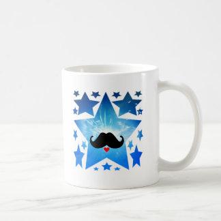 Speak LOVE out loud moustache Coffee Mug