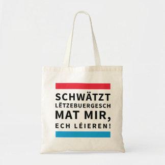 Speak Luxembourgish bag