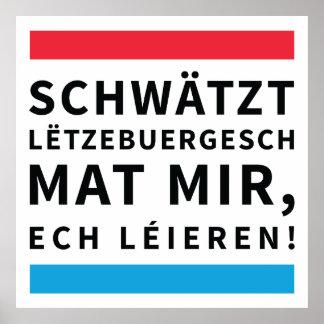 Speak Luxembourgish poster