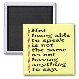 Speak Magnets