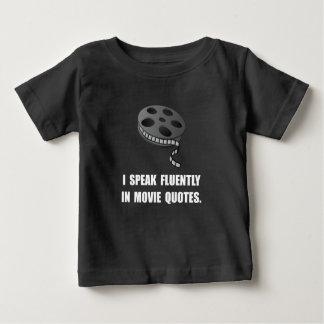 Speak Movie Quotes Baby T-Shirt