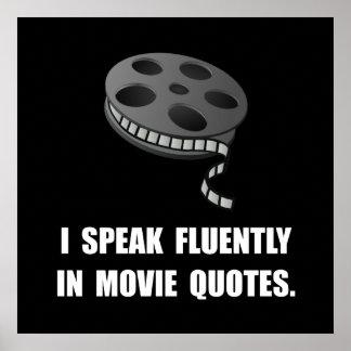 Speak Movie Quotes Poster