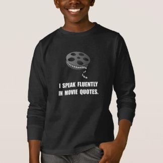 Speak Movie Quotes T-Shirt