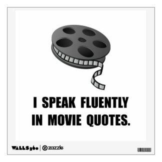 Speak Movie Quotes Wall Sticker
